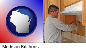 Madison, Wisconsin - a kitchen remodeling project