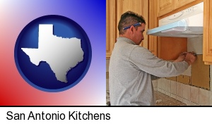San Antonio, Texas - a kitchen remodeling project