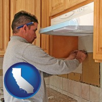 california a kitchen remodeling project