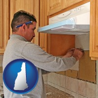 new-hampshire a kitchen remodeling project