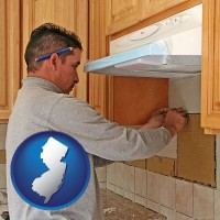 new-jersey a kitchen remodeling project